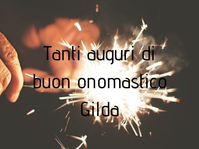 Gilda buon onomastico