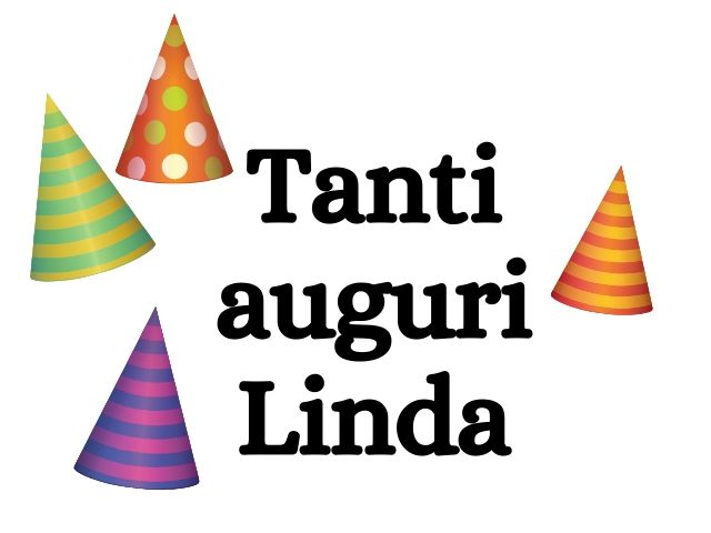 Tanti auguri Linda