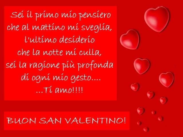 auguri di san valentino amore