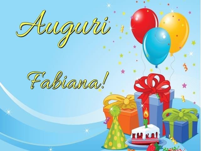 auguri Fabiana compleanno foto