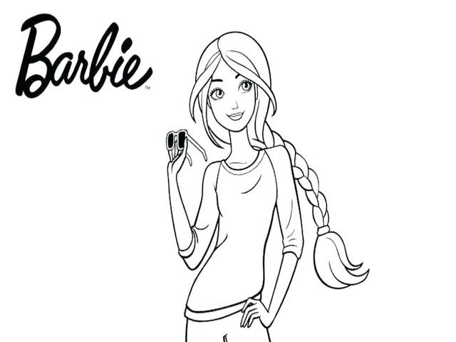 Barbie 72 Disegni Da Colorare E Stampare A Tutto Donna