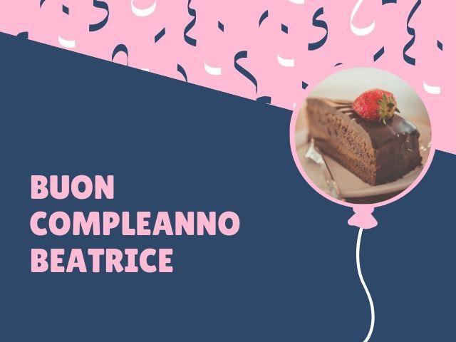 Beatrice buon compleanno