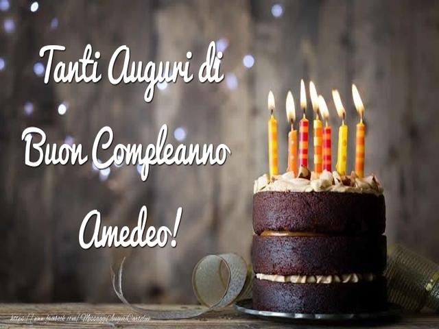 buon compleanno Amedeo6