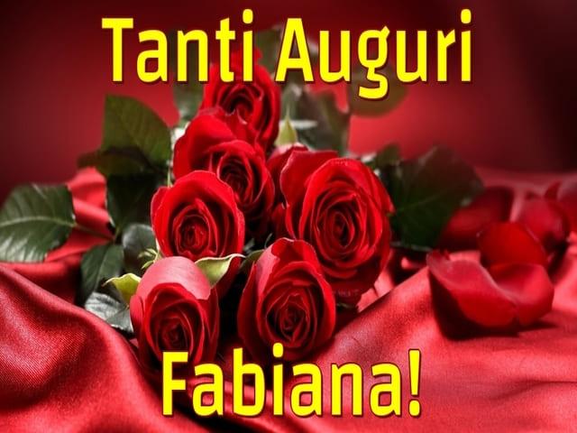 buon compleanno a Fabiana
