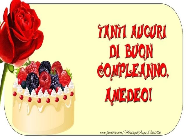 buon compleanno Amedeo11