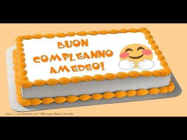 buon compleanno Amedeo12