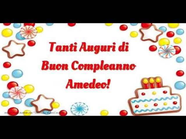 buon compleanno Amedeo13