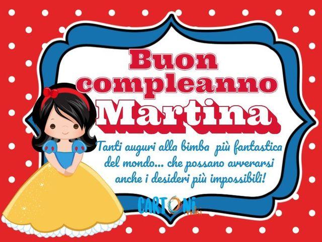 Buon Compleanno Martina Frasi Immagini E Video Di Auguri A