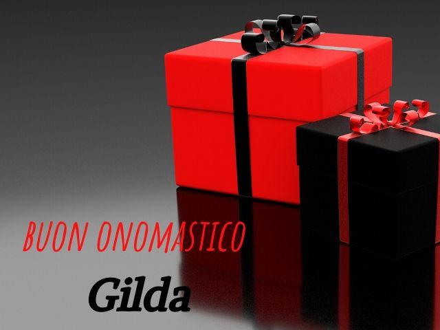 buon onomastico Gilda