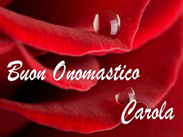 Carol significato