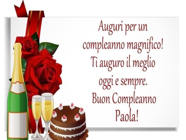 Compleanno Paola auguri foto