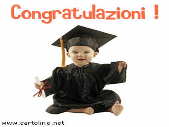 congratulazioni di laurea foto