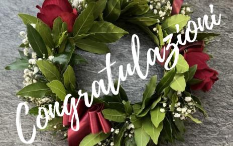 congratulazioni laurea