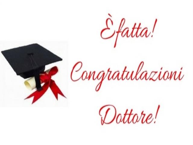 congratulazioni laurea foto