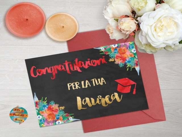 fiori di laurea foto