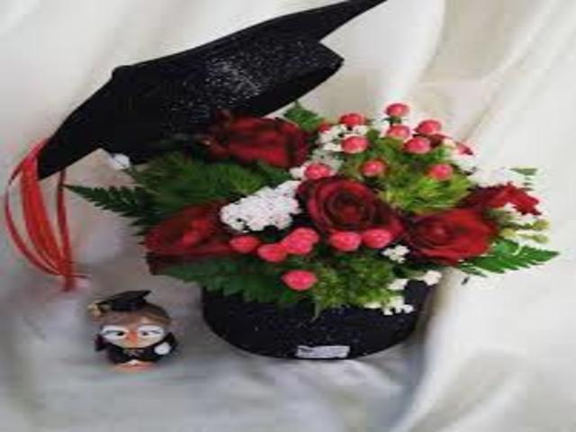 fiori per la laurea foto
