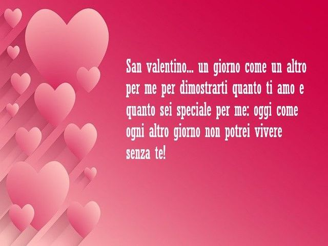 frase san valentino