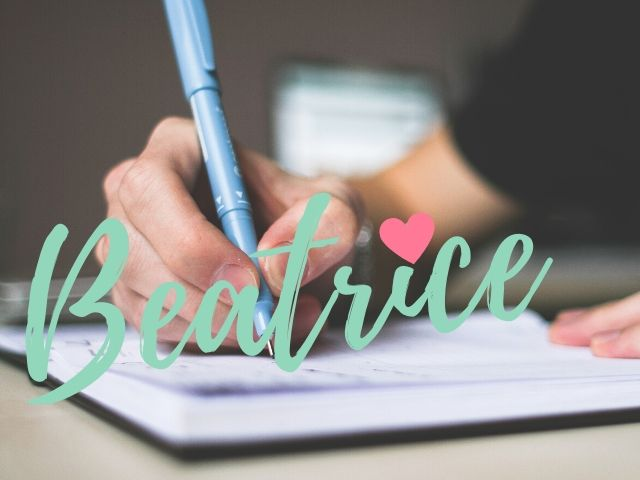 frasi onomastico Beatrice
