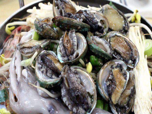 frutti di mare in allattamento
