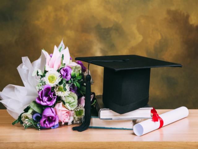 laurea fiori immagini foto