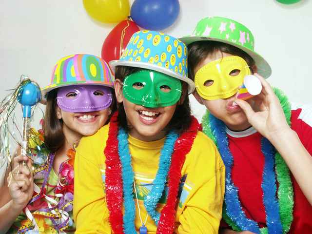 maschere bambini