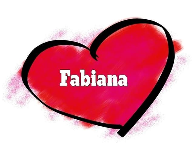 nome Fabiana foto