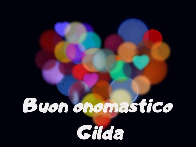 onomastico Gilda