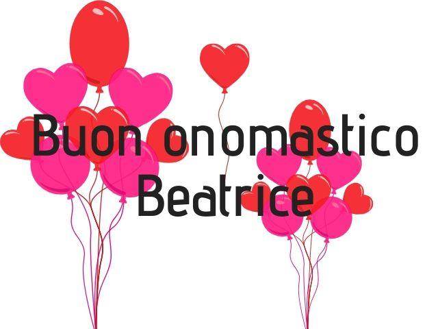 onomastico auguri Beatrice