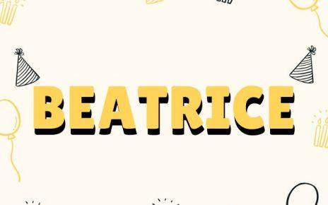 onomastico Beatrice