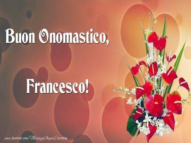 onomastico francesco