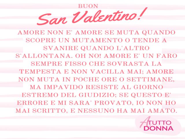 poesie di San Valentino