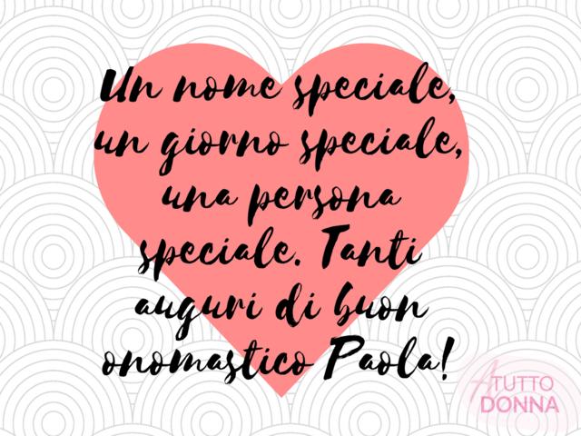 tanti auguri a Paola