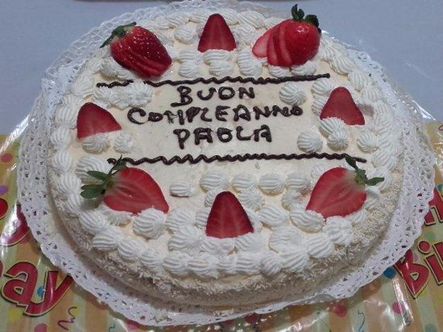 torta di Compleanno paola foto