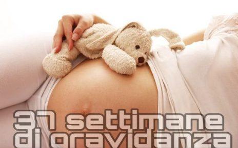 37 settimane di gravidanza