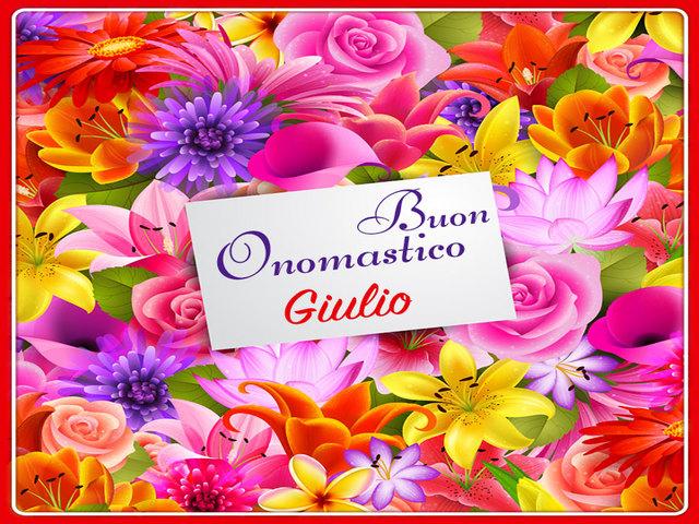 Buon Onomastico Giulio