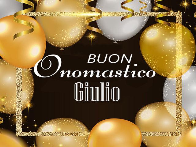 Buon Onomastico Giulio2