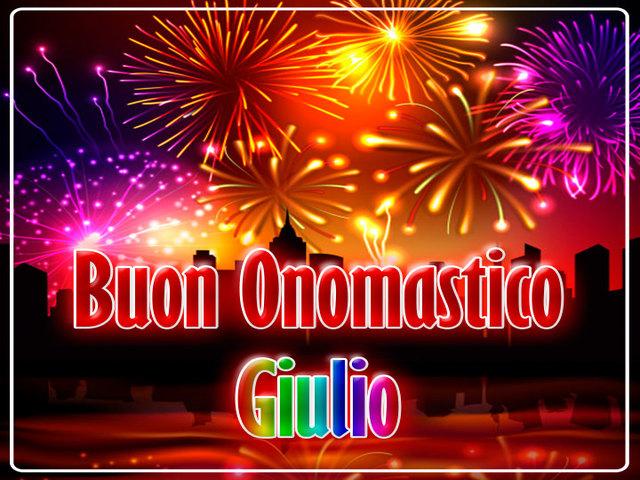Buon Onomastico Giulio3