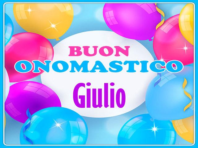 Buon Onomastico Giulio5