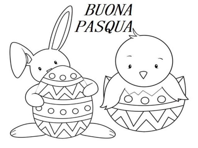 Disegni Di Pasqua 114 Immagini Da Stampare E Colorare A Tutto Donna