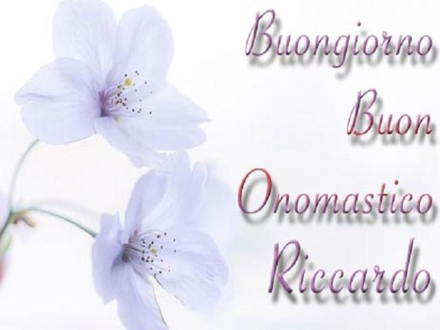 Onomastico Riccardo fiori