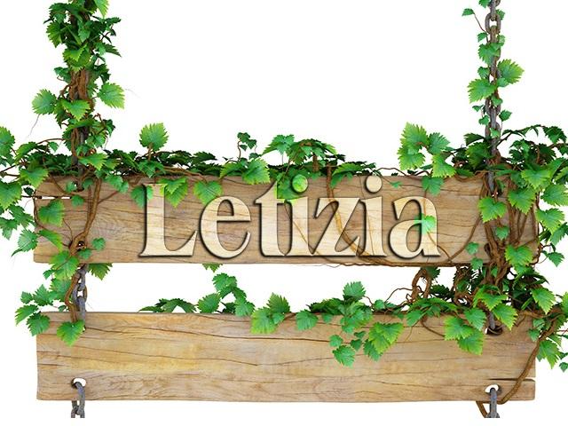 Letizia significato