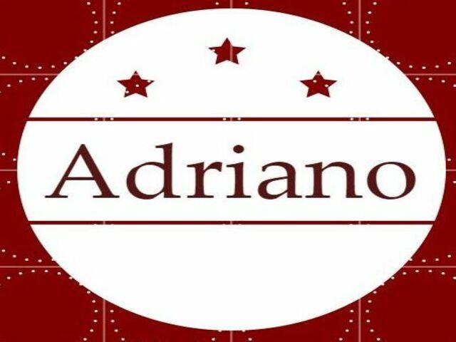 Adriano nome foto