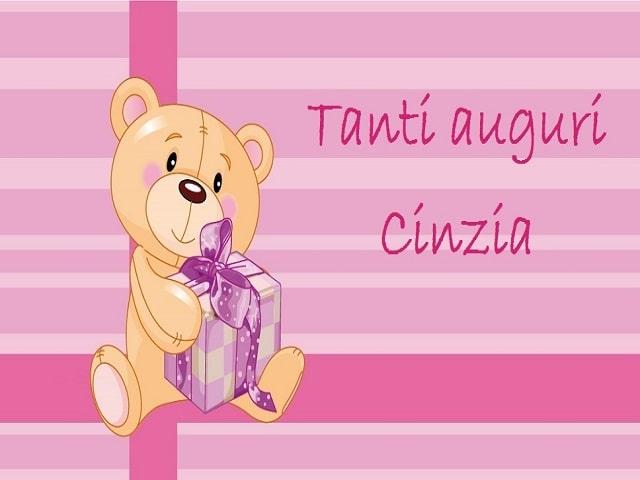 auguri Cinzia