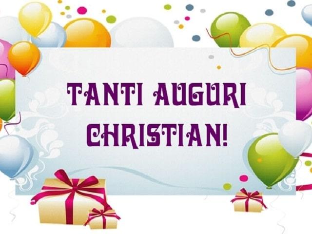 auguri cristian