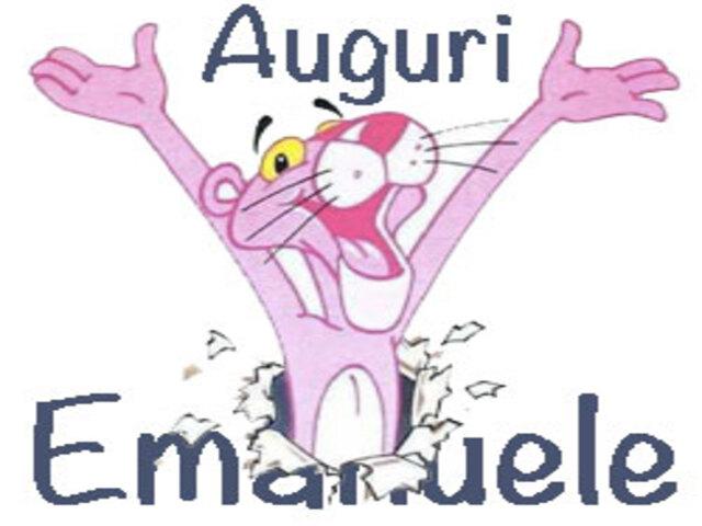 auguri Emanuele foto