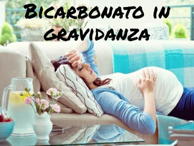 bicarbonato in gravidanza