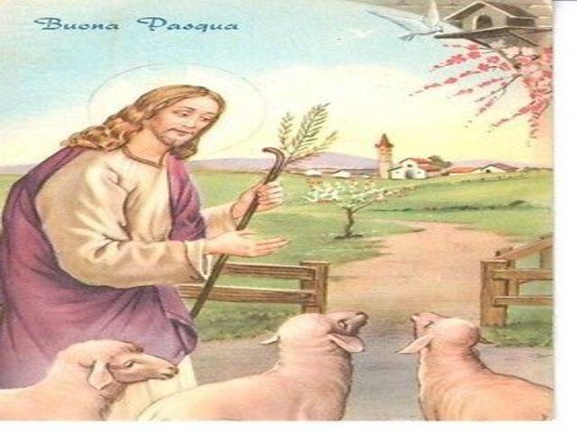 buona pasqua immagine religiosa