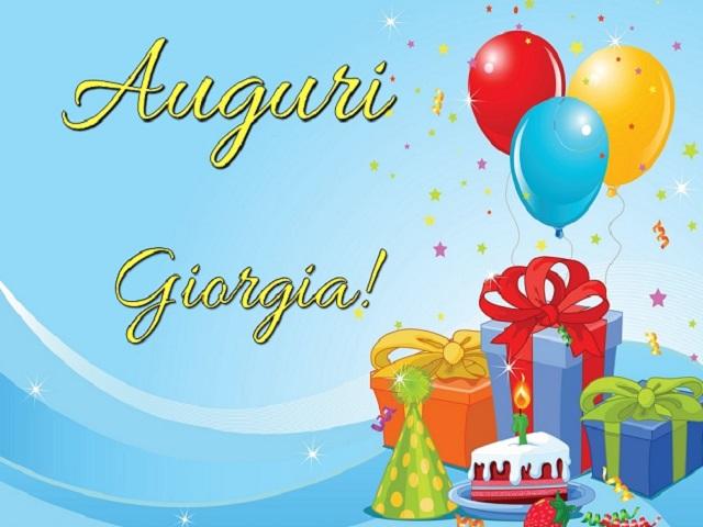 compleanno giorgia 1