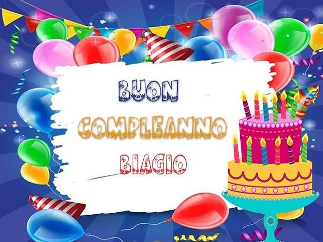 foto compleanno biagio