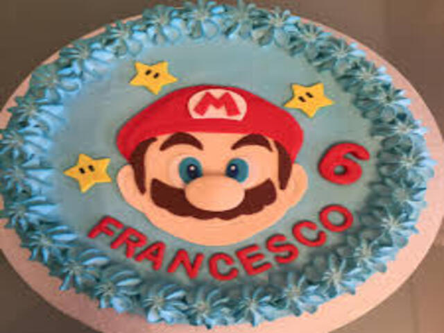Francesco buon compleanno torta